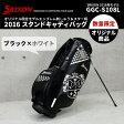 ダンロップ スリクソン スタンドキャディバッグ 2016年モデル GGC-S108L SRIXONブラック×ホワイト Srixon 9.5型当店オリジナル 数量限定ネーム刻印サービス