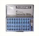 SIGNET 22014 41PCS クイックリリースビットセット(22014)