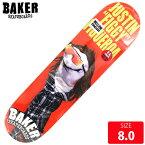 BAKER ベイカー デッキ FIGGY SOCK PUPPET DECK 8.0 BAD-310 skateboard スケートボード スケボー 【クエストン】