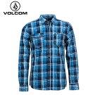 VOLCOMボルコムメンズシャツ[NASH]SUNトップスSHIRTSwoven2015モデルmen's