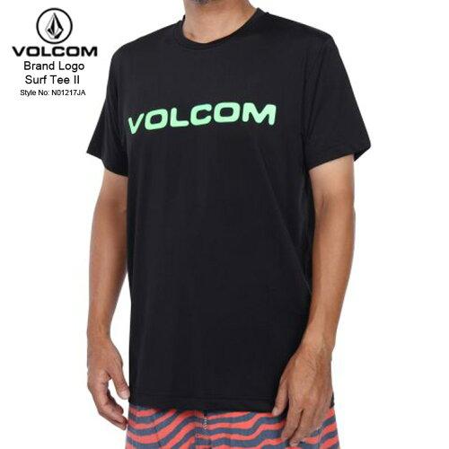 VOLCOM ボルコム メンズ サーフTEE BRAND LOGO SURF TEE II BGR ラッシュガード 水着 新作