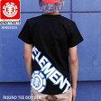 ELEMENT エレメント スケート TEE Tシャツ 半袖 ROUND TEE BOY BLK SKATE スケーター AH025324
