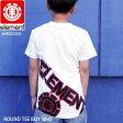 ELEMENT エレメント スケート TEE Tシャツ 半袖 ROUND TEE BOY WHT SKATE スケーター AH025324