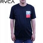 RVCA ルーカ Tシャツ RVCA EELS SS TEE BLK ストリート サーフ AG041211 【クエストン】