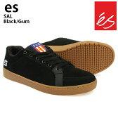 es/エス スケートシューズ スニーカー サル SAL BLACK/GUM サルバビア スケシュー スケボーシューズ スケートボード P06May16
