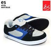 es エス スケートシューズ スニーカー ACCEL NAVY/BLUE アクセル スケシュー スケボー スケートボード