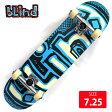 BLIND コンプリート キッズ セットOG WRAPPED GREEN/BLUE DECK 7.25 インチ BLC-019 ブラインド スケートボード スケボー