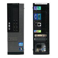 【中古】DELLOptiplex990SFWindows7ProCorei73.4GHz16GB320GBDVDマルチDtoDリカバリ20インチワイド液晶デュアル構成