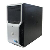 中古パソコンDELLPrecisionT1500Windows7Pro32bitCorei72.93GHz2GB500GBDVD-RWリカバリディスク【中古】【デスクトップ】