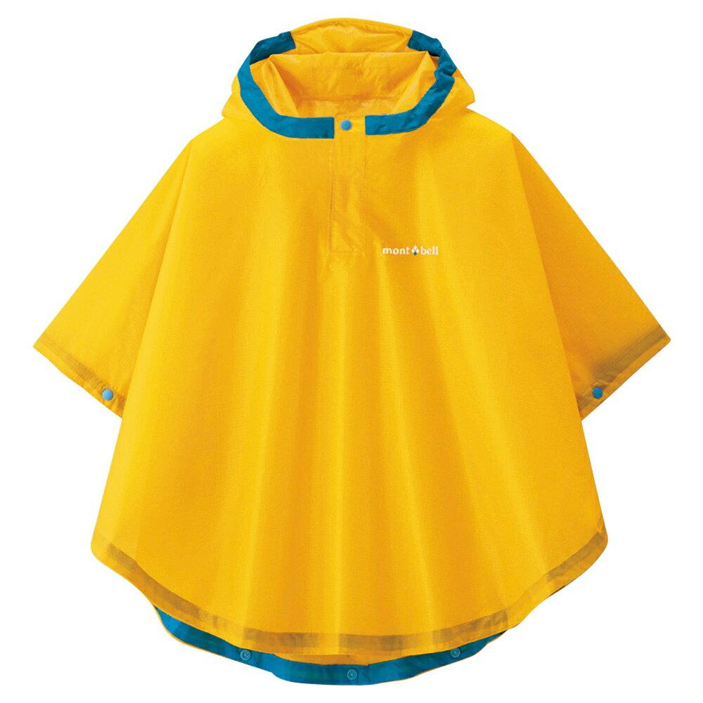 mont-bell モンベル トレッキング レインポンチョ Kid's 95-125 品番#1128286