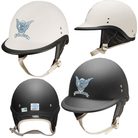 BECK SHORTY ハーフヘルメット画像