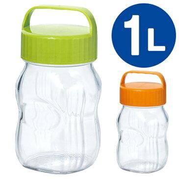 漬け上手 ガラス容器 フルーツシロップびん 1L