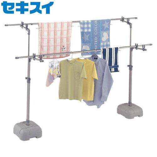 屋外物干し台 セキスイ ステンレス ブロー台付き BD-50S ( 洗濯物干しスタンド )
