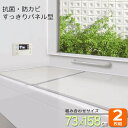 組合せ風呂ふた(75×160cm用) 2枚組 L-16