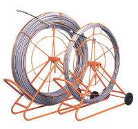 ジェフコムデンサン通線工具シルバーグラスライン(FRP製/PP被覆タイプ)線+フレームGL-1430RS