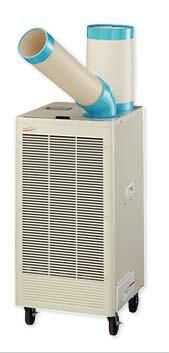 【法人様宛限定】【代引き不可】ナカトミ N407-TC 排熱ダクト付スポットクーラー 自動首振り:住設と電材の洛電マート