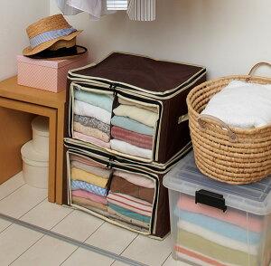 炭入り消臭衣類収納ケース小サイズ(お買い得3個セット)
