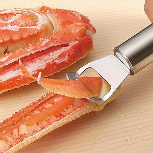 蟹の殻剥きピーラー カニむっキー   カニ 蟹むき