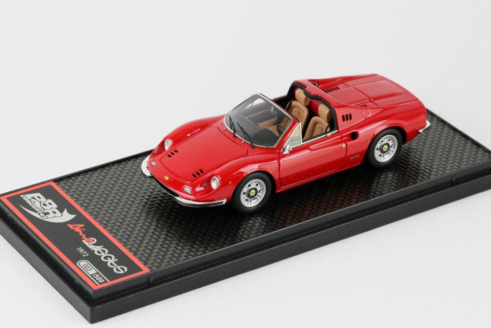 車・バイク, クーペ・スポーツカー BBR 143 BBRC054A 246 GTS 1972 Red 500