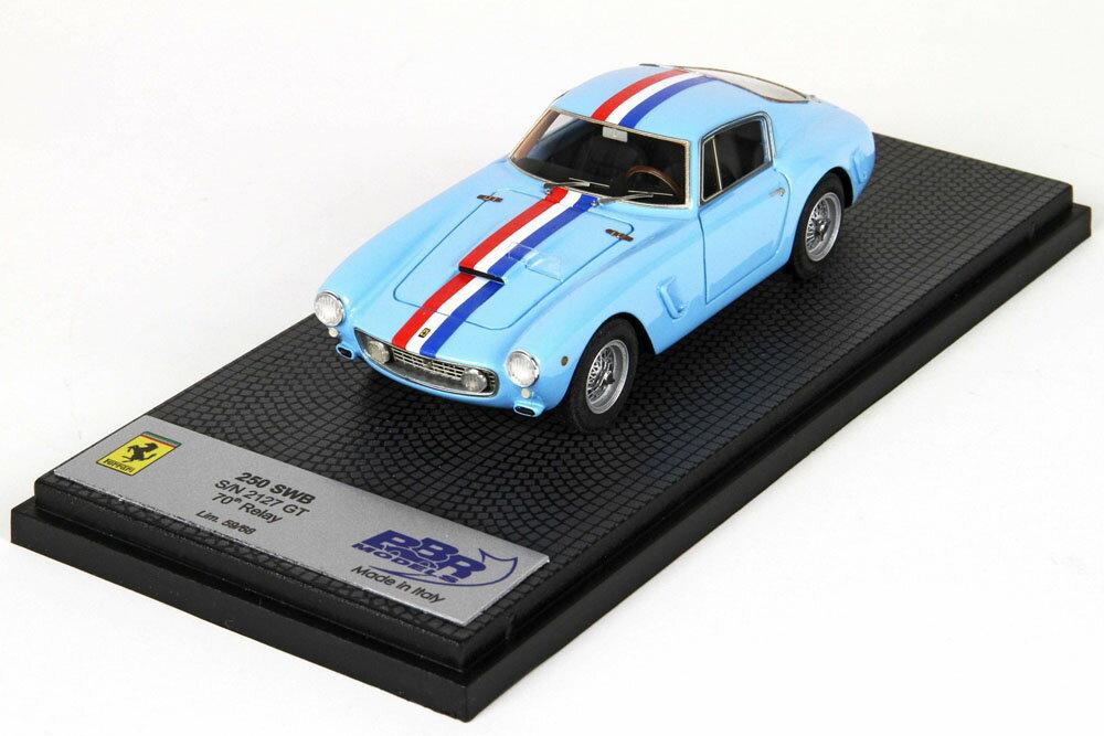 車, ミニカー・トイカー BBR 143 CAR15A-1 250 GT SWB sn 2127GT 70th Relay 68