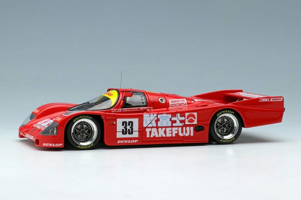 車, ミニカー・トイカー VISION 143 VM106B 962C Team Schuppan - TAKEFUJI Le Mans 1989 No.33
