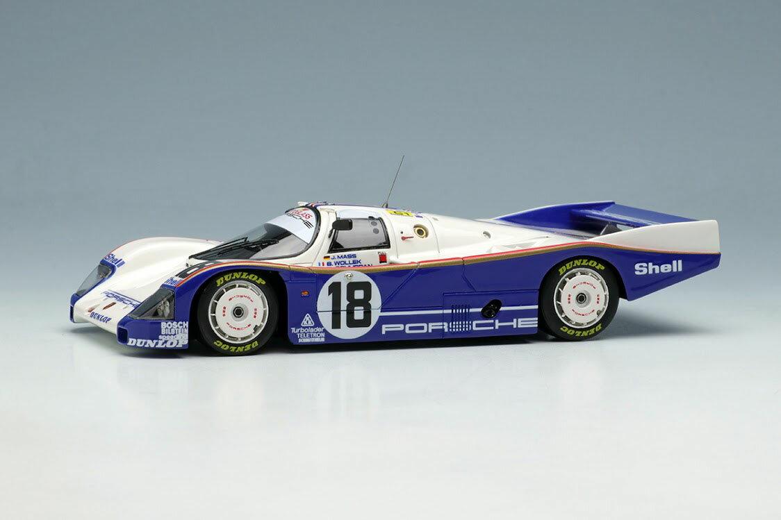 車・バイク, クーペ・スポーツカー VISION 143 VM046B 962C Team Porsche 1987 No.18 100