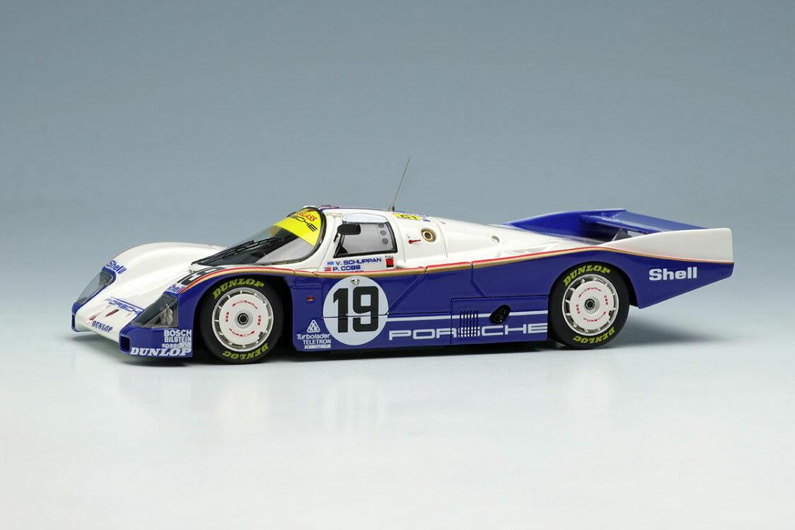 車・バイク, クーペ・スポーツカー VISION 143 VM046C 962C Team Porsche 1987 No.19 100