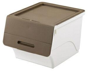 【3個セット】≪送料無料≫重ねてもフタがピッタリ!万能収納ボックスサンカフロック30深型【ごみ箱ゴミ箱フタ付き分別収納ボックス収納ケースおもちゃ入れおもちゃ箱】《UD》【D】