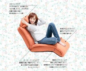 【座椅子マルチソファヘッドサポートリクライニング一人掛けトルクートクリアグローブ】