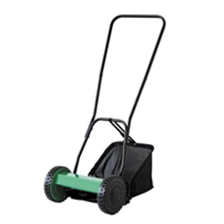 アイリスプラザ 芝刈り機 手動式 MLM-300 グリーン