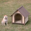 送料無料 ウッディ犬舎 WDK-750 ブラウン アイリスオーヤマ 【ペット用品・犬】[PTYS] [cpir]