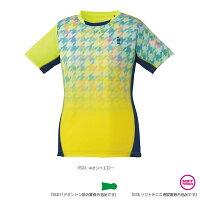 [ゴーセン テニス・バドミントン ウェア(レディース)]ゲームシャツ/レディース(T1807)