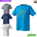 [プリンス テニス・バドミントン ウェア(メンズ/ユニ)]Tシャツ/ユニセックス(WU9002)