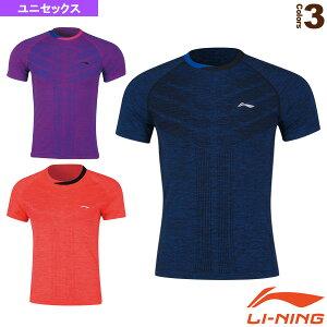 [リーニン テニス・バドミントン ウェア(メンズ/ユニ)]中国ナショナルチームゲームシャツ/ユニセックス(AAYN263)