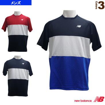 [ニューバランス テニス・バドミントン ウェア(メンズ/ユニ)]カラーブロックTシャツ/メンズ(JMTT9153)