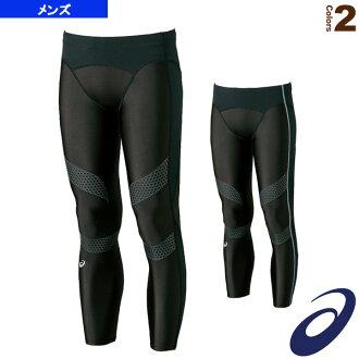 運動內衣,壓縮的 ASIC /asics 穿長褲襪 CR / 男人的 (XA3523)