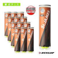 [ダンロップテニスボール]St.JAMES(セントジェームス)『4球×15缶』テニスボール(STJAMESE4CS60)