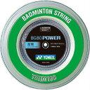 バドミントン ガット ヨネックス YONEX ストリングス BG80パワー BG80POWER【ロール100m】【バドミントン ガットロール badminton バトミントン】 racketfield