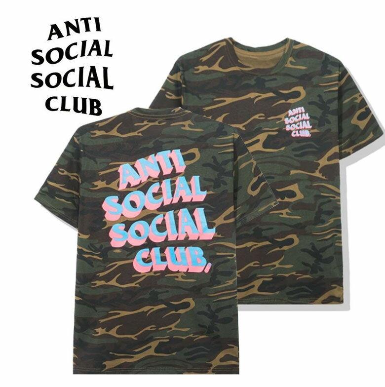 トップス, Tシャツ・カットソー anti social social club POPCORN CAMO TEE T