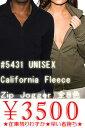 アメリカンアパレル(americanapparel)全品在庫限り!CALIFORNIA FLEECE ZIP JOGGERカリフォルニアフリース ジップジョガー男女兼用 大きいサイズ スウェットアメリカン アパレルアメアパAMERICAN APPAREL