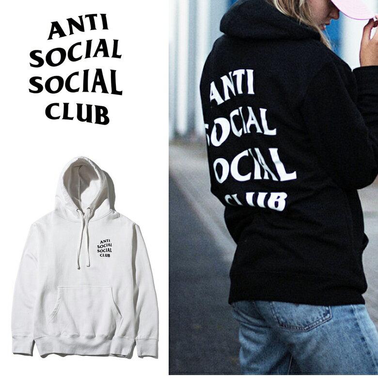 トップス, パーカー 530111 ANTI SOCIAL SOCIAL CLUB ORIGINAL LOGO HOODIE 17-70-10-004