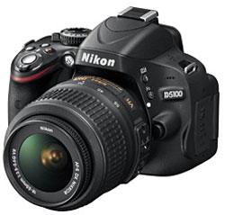 デジタル一眼レフカメラ D5100 18-55VR レンズキット【送料無料】ニコン D510018-55