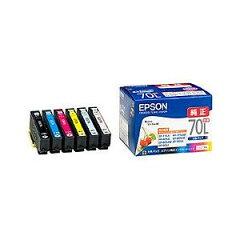 インクカートリッジ IC6CL70L (6色パック増量)【純正】エプソン IC6CL70L