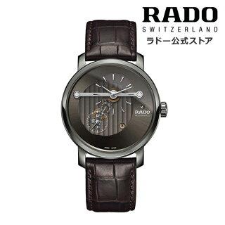 RADOラドー公式DIAMASTERAUTOMATICHIGHLINEダイヤマスターオートマティックハイラインレザーベルト自動巻