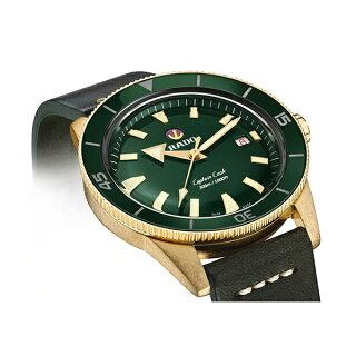 【公式/送料無料】RADOラドーメンズ腕時計CaptainCookAutomaticBronze(キャプテンクックオートマティックブロンズ)42mmブロンズケース
