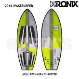 "RONIXロニックス2016ウェイクサーフィンKoalTechnoraThruster5'7"""