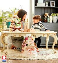 赤ちゃんとおむつケーキ