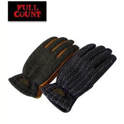 (★クーポン発行)フルカウント FULL COUNT 手袋 BROWN'S BEACH ブラウンズビーチ ビーチクロス レザー グローブ プレゼント 小物 ラッピング対応可能