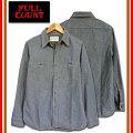 【FULLCOUNT】【フルカウントシャツ】4810BASICCHAMBRAYSHIRTSフルカウント長袖シャツシャンブレーワークシャツシャツジャケット【送料無料】【代引手数料無料】