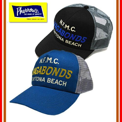Pherrow's/フェローズ 16S-PMC2 2016年新作春夏 「VAGABONDS」メッシュキャップ 帽子 CAP